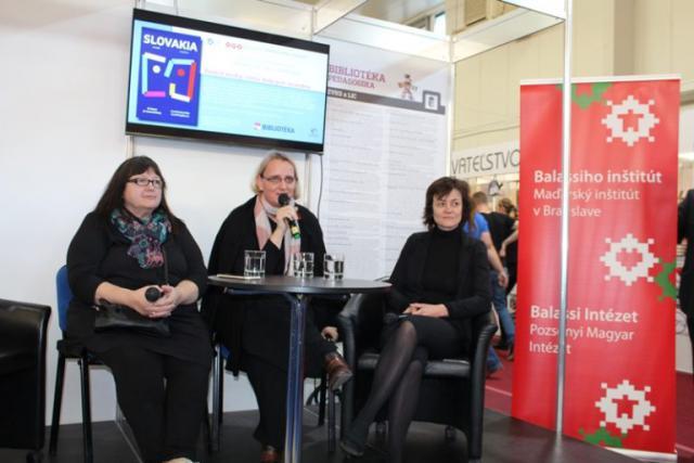 Miroslava Vallová, Deák Renáta és Hizsnyai Ildikó pozitívan értékelték, hogy a budapesti könyvhét vendége Szlovákia volt